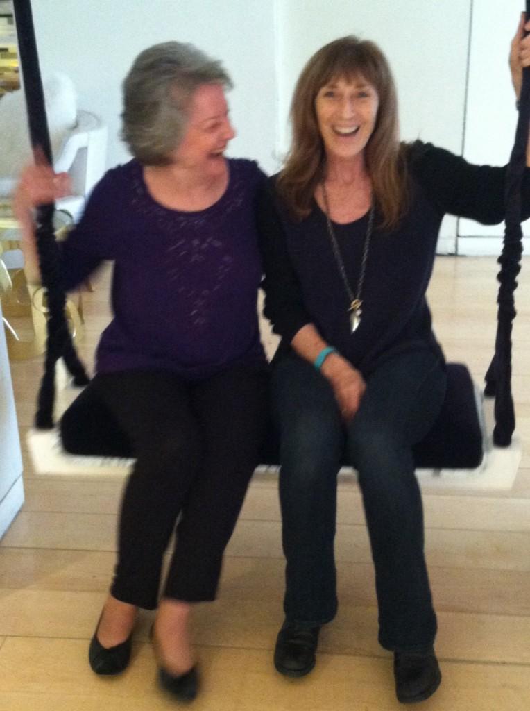Marj and Patricia Albere Swing LA